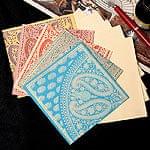 インドのメッセージカードセット - VAMA