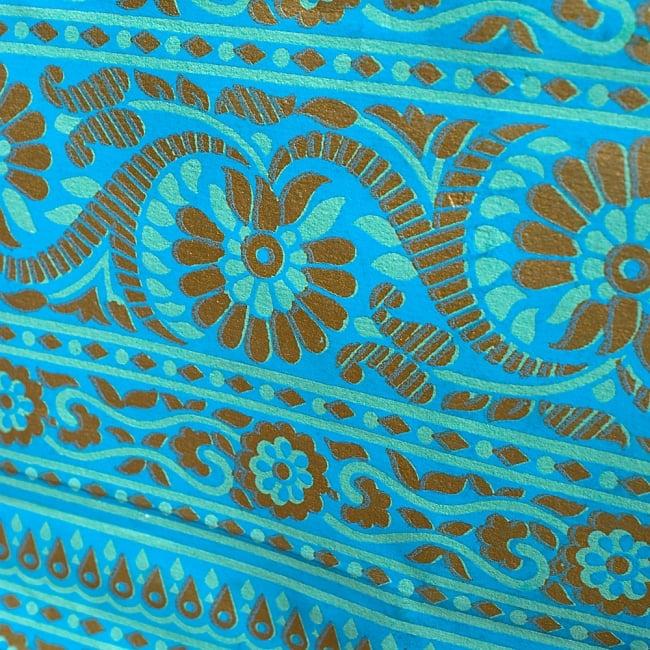 インドのペーパーバック 【中】 3 - UPにしてみました!インドを感じさせる美しいデザインです^^