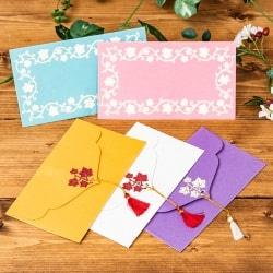 インドの封筒5枚セット - MADHUR