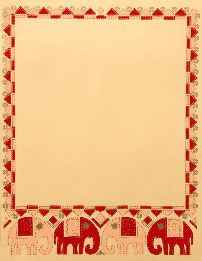 レターセット - エレファントの写真