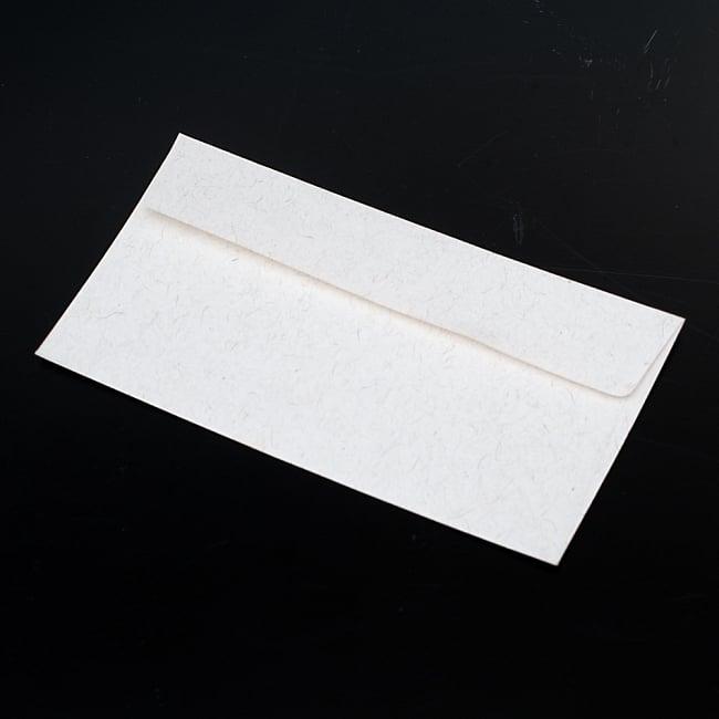 インドのレターセット - マハラジャの行進 - 封筒は裏表無地のシンプルなタイプです。