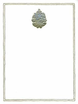 インドのレターセット - sumukh gold(ID-LETTER-60)
