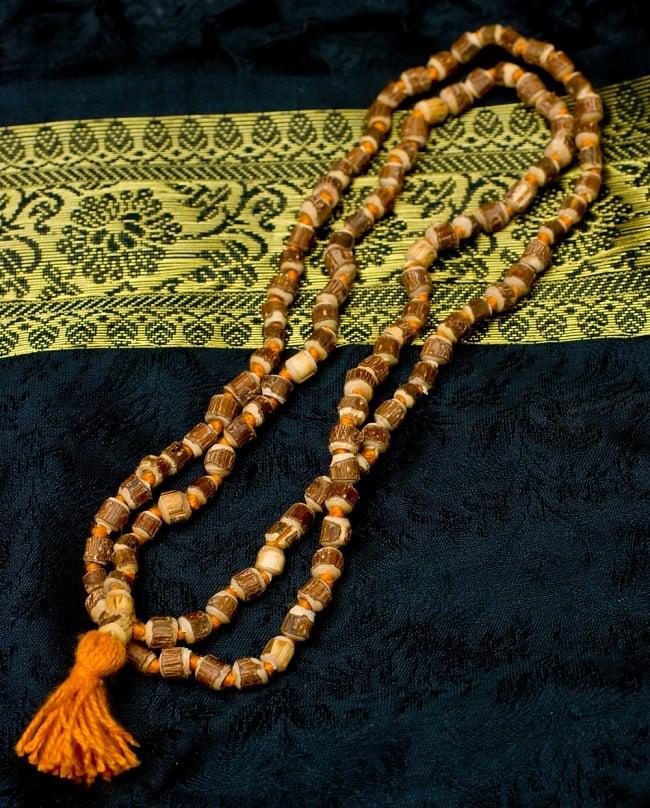 トゥルシー(ホーリーバジル)の数珠の写真
