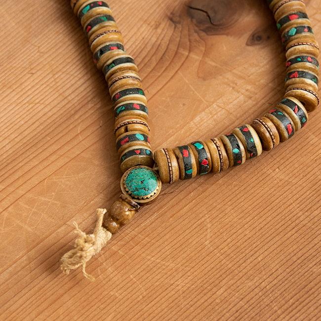 ネパールの数珠の写真3 - 全体を見てみました。