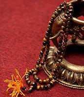 ネパールの数珠 - タイガーアイ