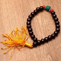 ネパールの数珠ブレスレット -