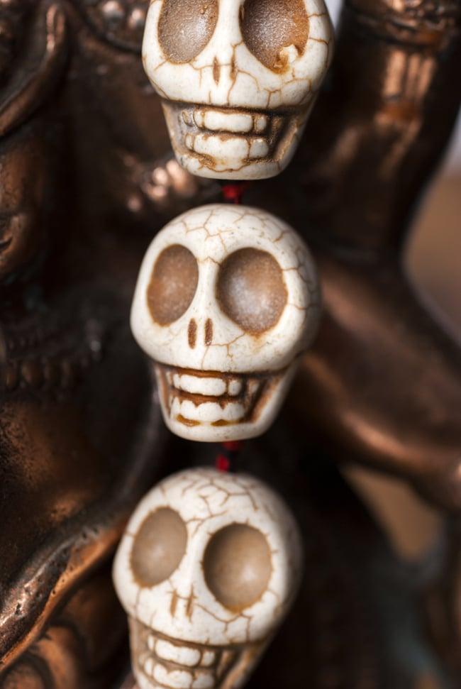 骸骨の数珠 - 大の写真2 - アップで撮ってみました