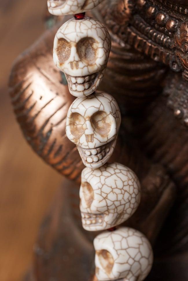 骸骨の数珠 - 小 2 - アップで撮ってみました