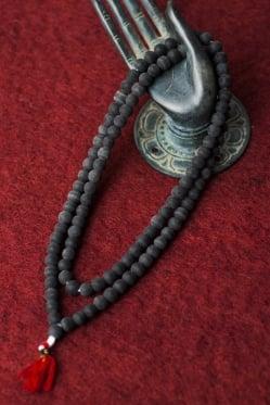 インドの数珠 - シャリグラム(古代石)