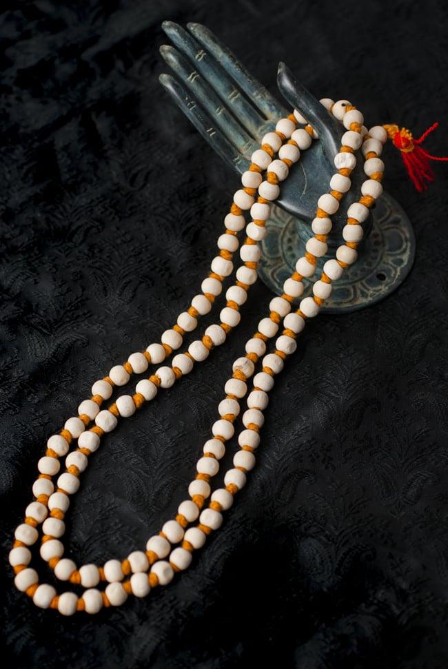 インドの数珠 - 橙の写真