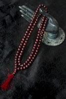 インドの数珠 - 紫光白檀