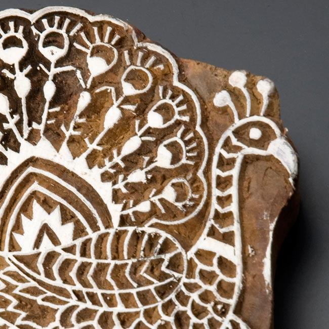 ウッドブロックハンガー【鳥】[19cm x 12cm]の写真3 - 拡大写真です。