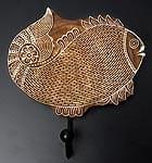 ウッドブロックハンガー【魚】[2