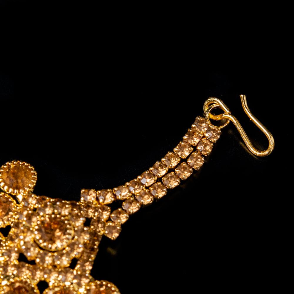 カラフルビジューのティッカ インドのヘアアクセサリー 5 - フックの写真です