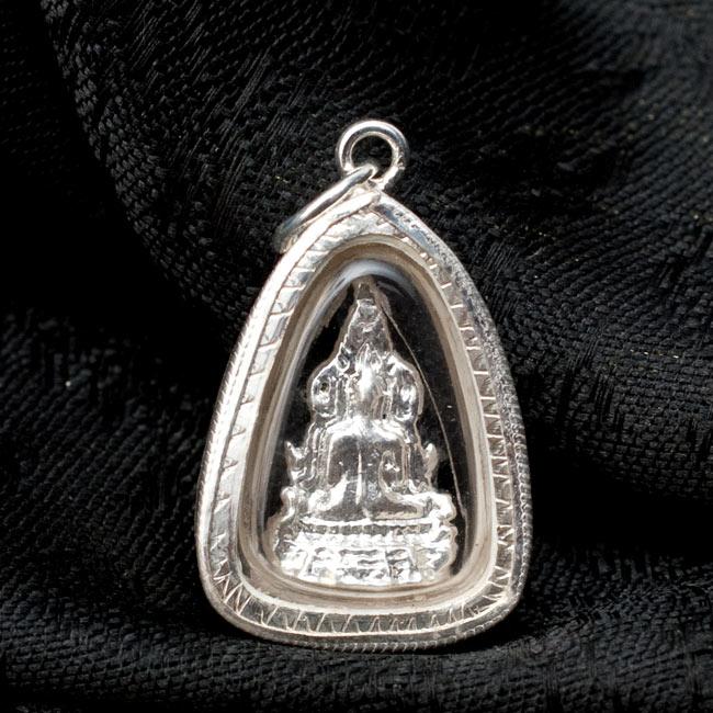 [17mm]タイのペンダント型お守り プラクルアン[仏像] 3 - 裏面の写真です