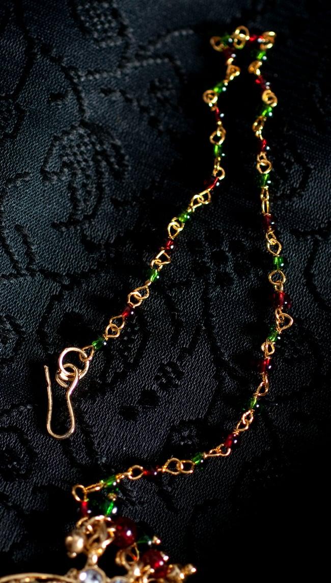 〔ナティー〕ノーズリング インドのノンホール鼻ピアスの写真3 - チェーン部分の写真です
