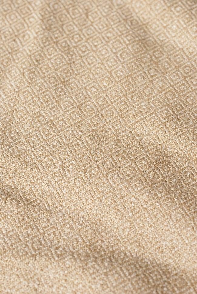インディアン刺繍のボヘミアンワイドパンツ 7 - 生地を近くから見てみました。インドものとは思えない高品質な仕上がりです。