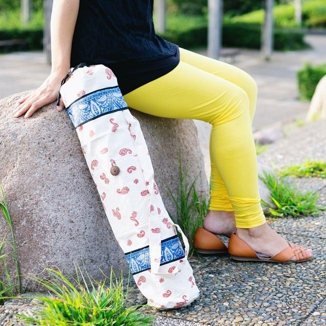 リラックスレギンスパンツ 動きやすく心地の良い軽やかさの写真8 - 【選択:C】黄色