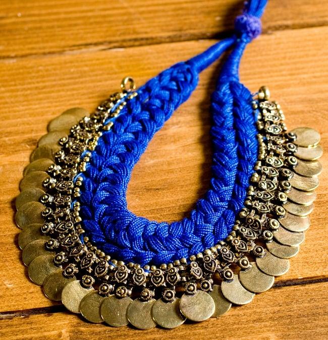 インドのトライバルゴールドネックレス 5 - 選択A