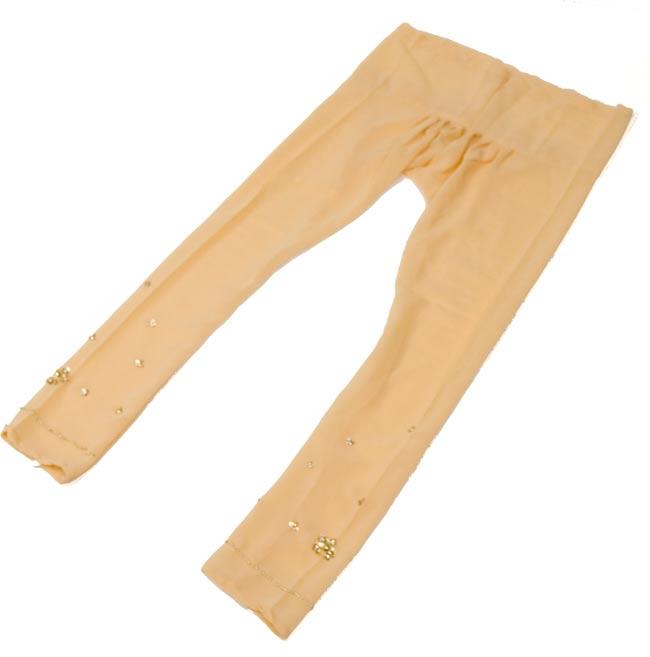 パンジャービードレス3点セット KIDS 140cm 4 - パンツはこんな形です。紐で結びますので、どんな方にでもフィットするフリーサイズです