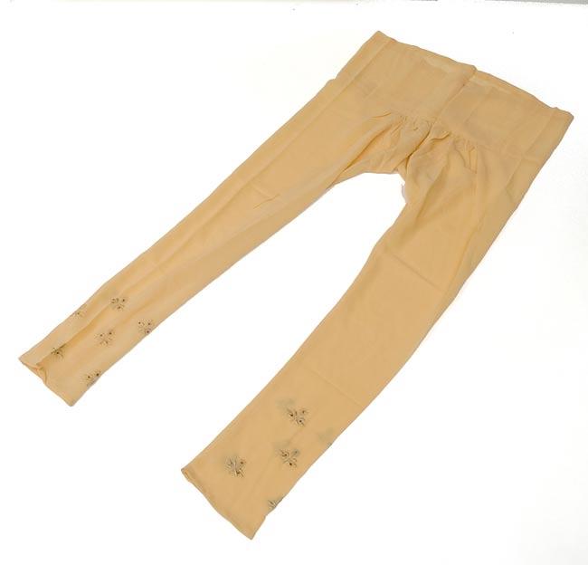 パンジャービードレス3点セット  KIDS 150cm 4 - パンツはこんな形です。紐で結びますので、どんな方にでもフィットするフリーサイズです