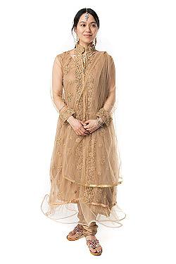 インドのゴージャスパンジャビ・ドレスセットの商品写真