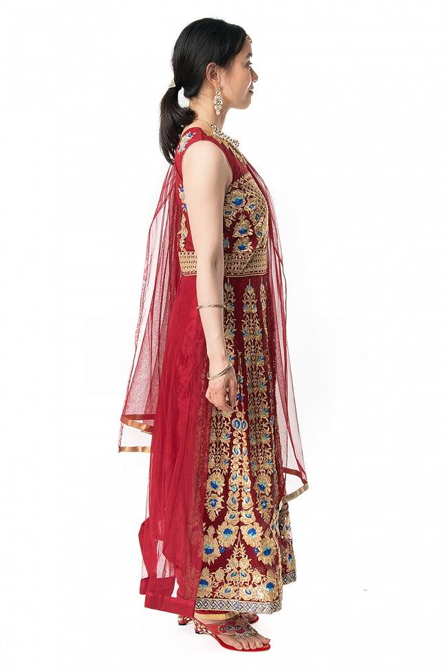 インドのゴージャスパンジャビ・ドレスセット 3 - 違う角度から見てみました。