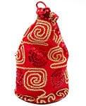 インドのマチ付き巾着[3個セット