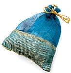 インドの大きな巾着[3個セット]