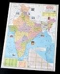 インド全土地図(オリヤー語) -