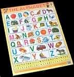 アルファベット - 教育ポスター