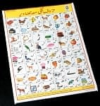 ウルドゥ語のアルファベット - 教育ポスター