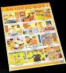 IDEAL BOY(理想的な少年) - インドの教育ポスター