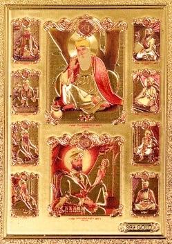 【お得!選べる3枚セット】インドのヒンドゥー神様ゴールドお守りカード ステッカーの写真