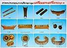 タイの楽器 - タイの教育ポスタ