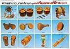 タイの楽器 - タイの教育ポスター