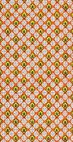 オレンジ小花模様【ティラキタオ