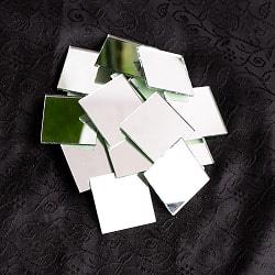 【およそ22枚入】正方形鏡セット たてよこ 約3.1cmx.3.1cmの商品写真