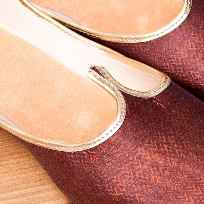 男性用宮廷靴 - モジャリブラウン 3 - 角度を変えてみてみました。