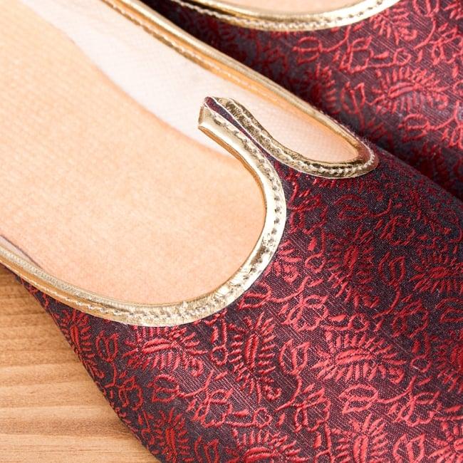 男性用宮廷靴 - モジャリレッド 3 - 角度を変えてみてみました。