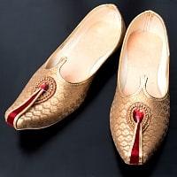 男性用宮廷靴 - モジャリゴールド