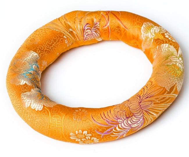 シンギングボウル用リング[直径約19cm] 10 - 橙色のものです