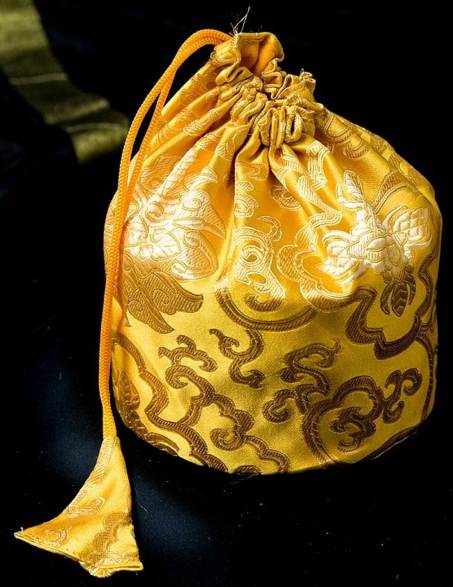 シンギングボウル用携帯巾着 中サイズの写真