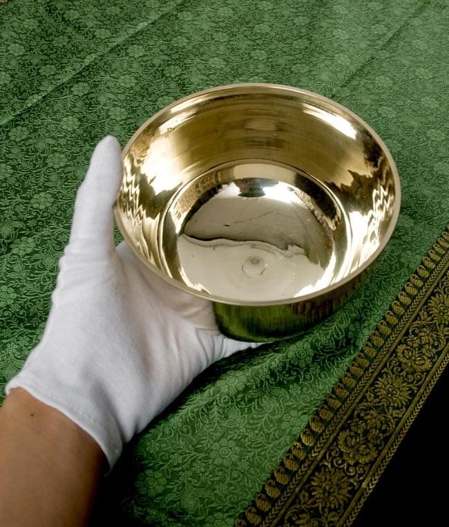 [ワケアリ]高音質シンプルシンギングボウル 14.6cmの写真 -