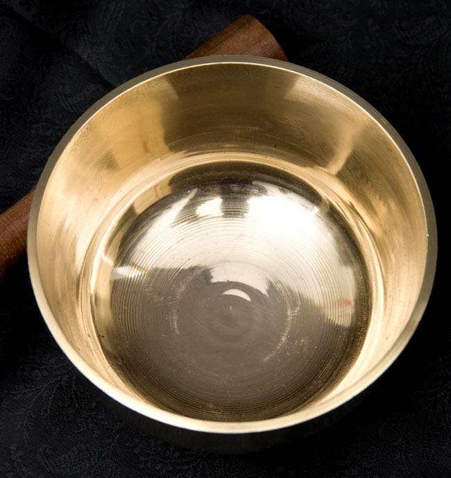 シンプルシンギングボウル 11.6cmの写真2 - 上からの写真です。