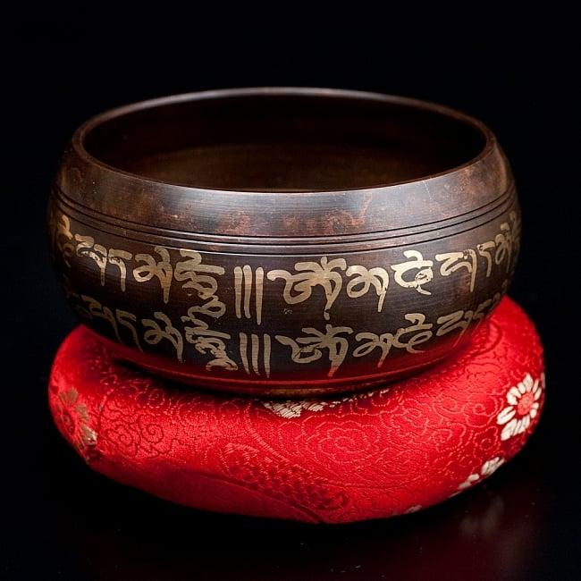【一点物】チベタンシンギングボウル【音階:F】 328g(スティック付属)の写真