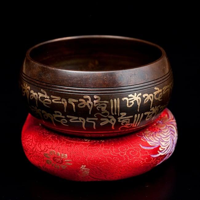 【一点物】チベタンシンギングボウル【音階:E】 304g(スティック付属)の写真
