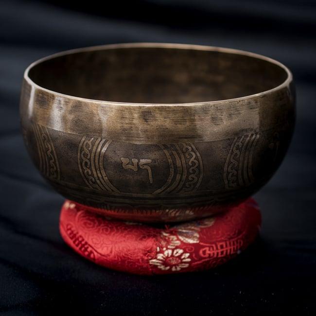 【一点物】チベタンシンギングボウル【音階:D#】668g(スティック付属)の写真