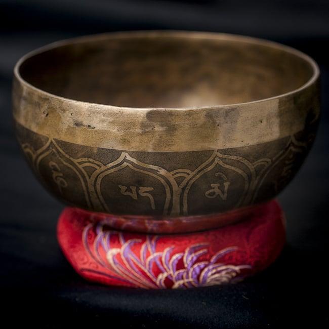 【一点物】チベタンシンギングボウル【音階:D#】548g(スティック付属)の写真