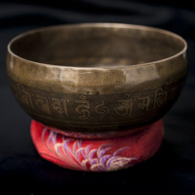 【一点物】チベタンシンギングボウル【音階:G#】676g(スティック付属)の写真